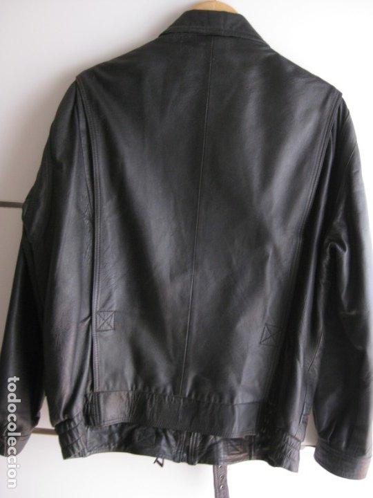 Vintage: Antigua chaqueta de piel. Años 80. - Foto 7 - 177833358