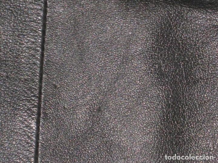 Vintage: Antigua chaqueta de piel. Años 80. - Foto 10 - 177833358