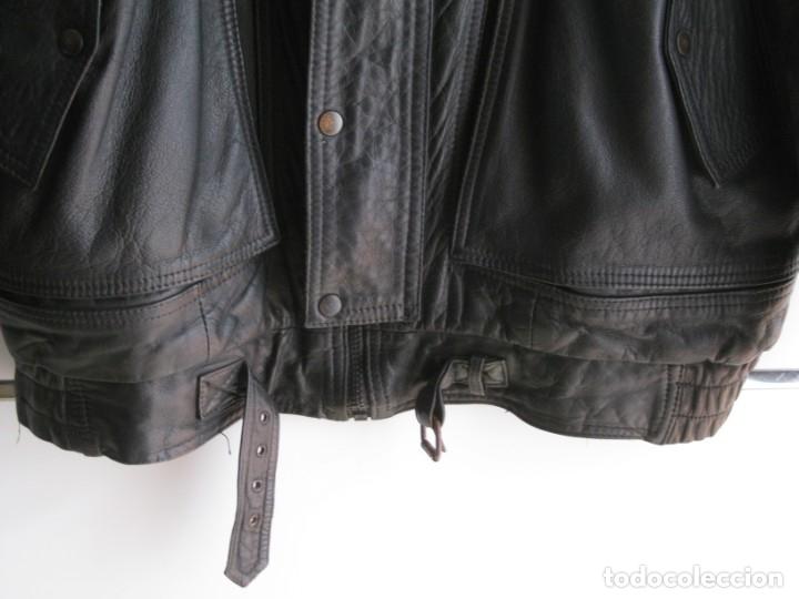 Vintage: Antigua chaqueta de piel. Años 80. - Foto 13 - 177833358
