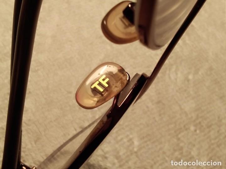 Vintage: Gafas ( TOM FORD, TF 5078. LP 1132436 en la Varilla )CRISTALES GRADUADOS. MONTURA EN BUEN ESTADO. - Foto 9 - 177947279