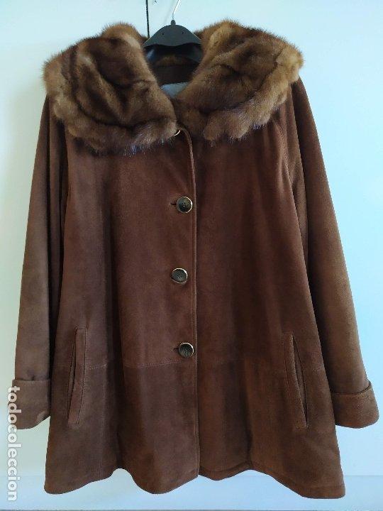 Vintage: Abrigo de piel - Foto 3 - 177970654