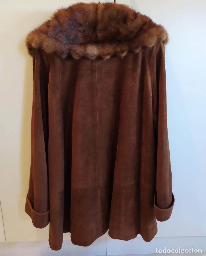 Vintage: Abrigo de piel - Foto 4 - 177970654