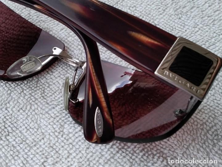 Vintage: Gafas ( BVLGARI, 626.. 104/7E) CRISTALES NO GRADUADOS. MONTURA EN BUEN ESTADO. - Foto 3 - 178023968