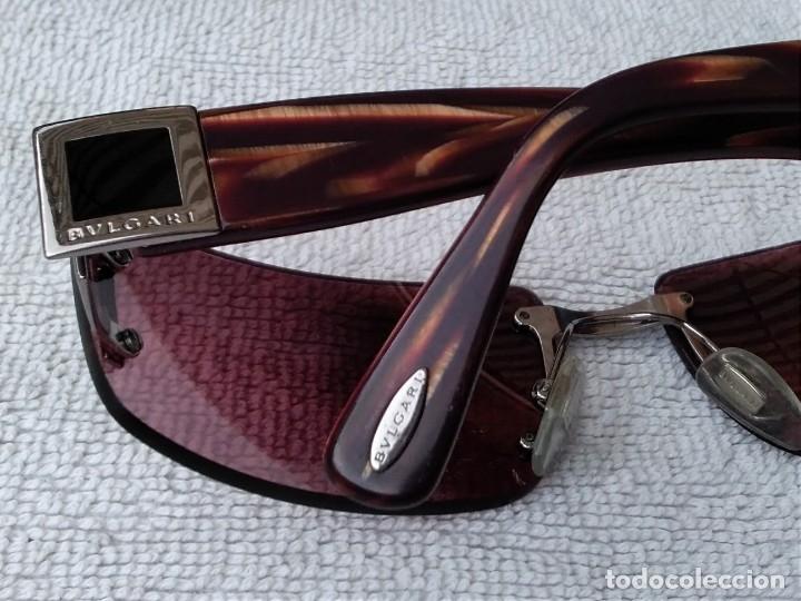 Vintage: Gafas ( BVLGARI, 626.. 104/7E) CRISTALES NO GRADUADOS. MONTURA EN BUEN ESTADO. - Foto 4 - 178023968