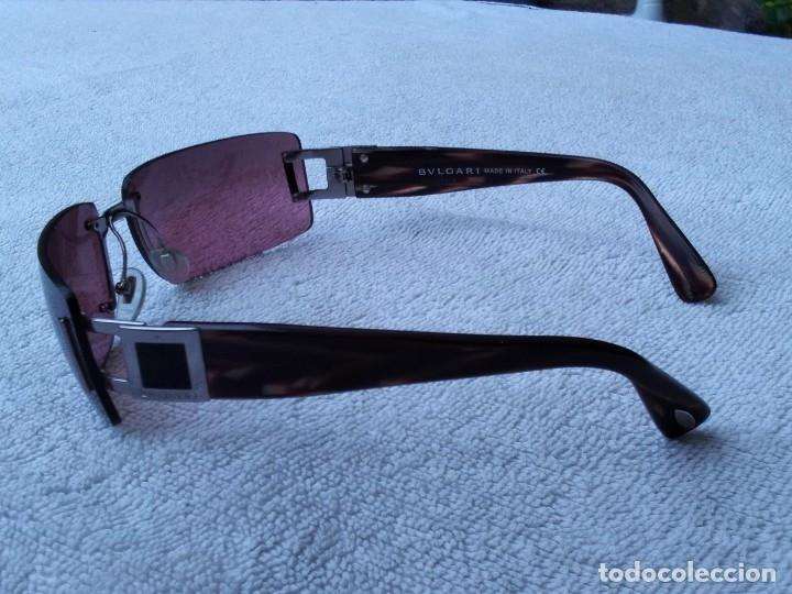 Vintage: Gafas ( BVLGARI, 626.. 104/7E) CRISTALES NO GRADUADOS. MONTURA EN BUEN ESTADO. - Foto 12 - 178023968