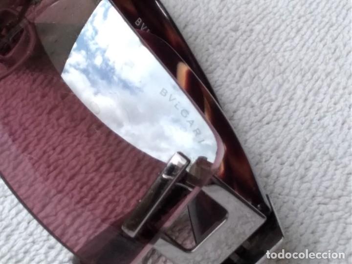 Vintage: Gafas ( BVLGARI, 626.. 104/7E) CRISTALES NO GRADUADOS. MONTURA EN BUEN ESTADO. - Foto 19 - 178023968