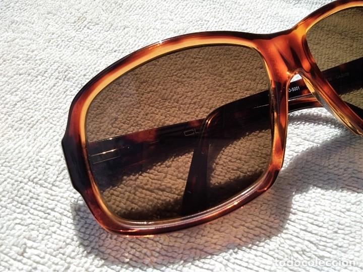 Vintage: Gafas ( CUSTÓ, BARCELONA 5001 CA-2109 ) CRISTALES NO GRADUADOS. MONTURA EN BUEN ESTADO. - Foto 4 - 178027399