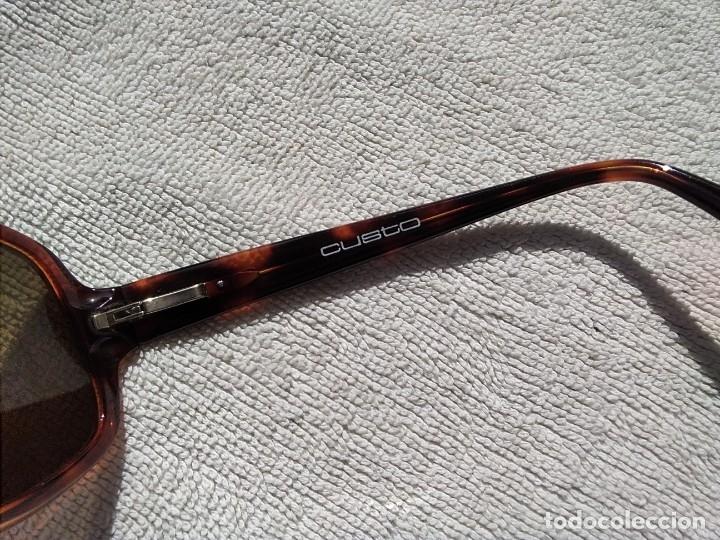 Vintage: Gafas ( CUSTÓ, BARCELONA 5001 CA-2109 ) CRISTALES NO GRADUADOS. MONTURA EN BUEN ESTADO. - Foto 8 - 178027399