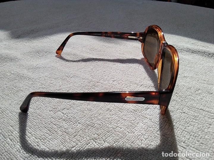 Vintage: Gafas ( CUSTÓ, BARCELONA 5001 CA-2109 ) CRISTALES NO GRADUADOS. MONTURA EN BUEN ESTADO. - Foto 11 - 178027399