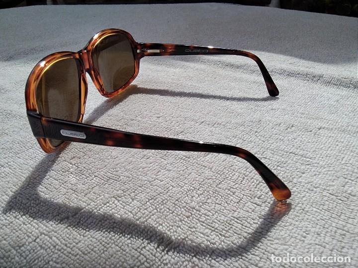 Vintage: Gafas ( CUSTÓ, BARCELONA 5001 CA-2109 ) CRISTALES NO GRADUADOS. MONTURA EN BUEN ESTADO. - Foto 12 - 178027399