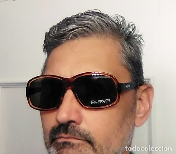 Vintage: Gafas ( CUSTÓ, BARCELONA 5001 CA-2109 ) CRISTALES NO GRADUADOS. MONTURA EN BUEN ESTADO. - Foto 13 - 178027399
