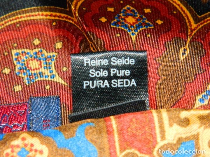 Vintage: PEDRO MUÑOZ Pañuelo SEDA - Foto 4 - 178081873