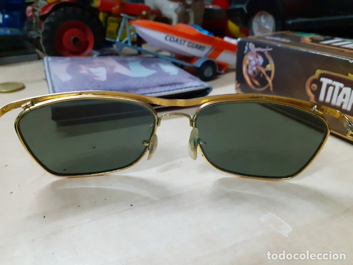 Vintage: Gafas de sol Ray Ban Olympian II originales de 1966.John Lennon,the Beatles video Rain.Paper Writer. - Foto 3 - 178336021