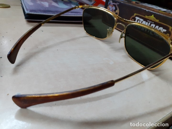 Vintage: Gafas de sol Ray Ban Olympian II originales de 1966.John Lennon,the Beatles video Rain.Paper Writer. - Foto 4 - 178336021