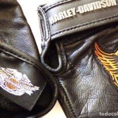 Vintage: HARLEY DAVIDSON. GUANTES MOTO. Lote 178604751