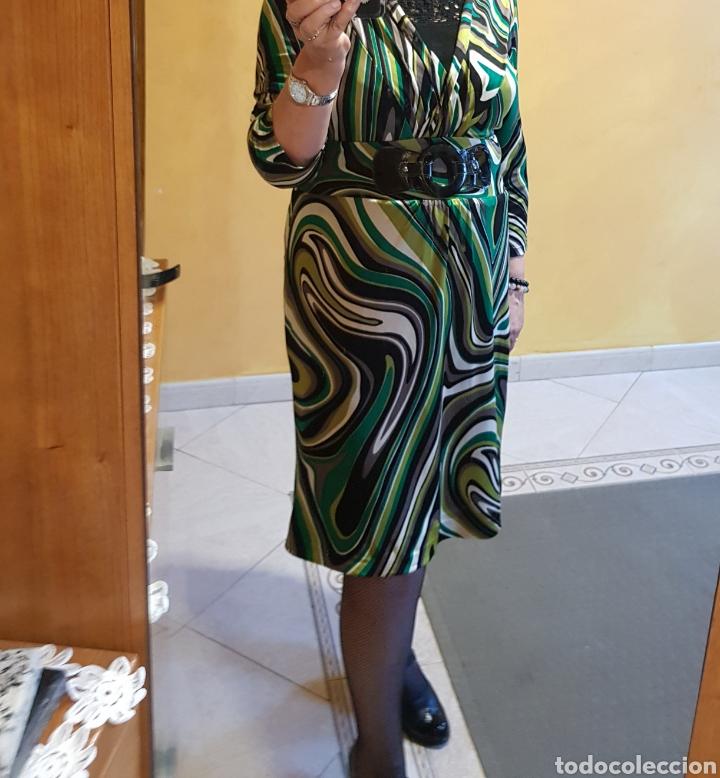 Vintage: Vestido de punto talla 44 - Foto 2 - 179121182