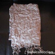 Vintage: FULAR PAÑUELO CON FLECOS 100% VISCOSA. Lote 180044082