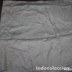 Vintage: FULAR PAÑUELO GRIS 100% VISCOSA. Lote 180044106