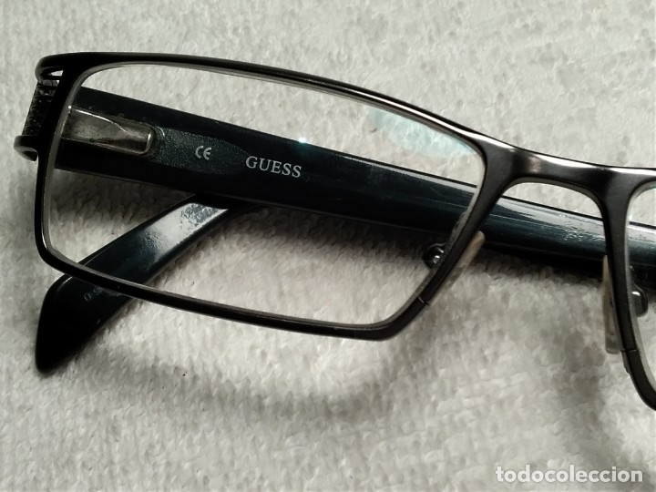 Vintage: Gafas ( GUESS GU 1591.) CRISTALES GRADUADOS, MONTURA EN BUEN ESTADO. - Foto 2 - 180855456
