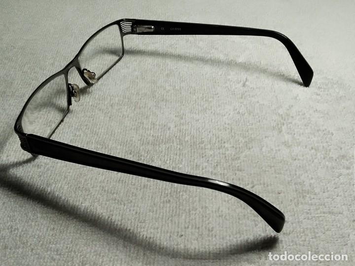 Vintage: Gafas ( GUESS GU 1591.) CRISTALES GRADUADOS, MONTURA EN BUEN ESTADO. - Foto 12 - 180855456