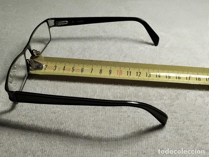 Vintage: Gafas ( GUESS GU 1591.) CRISTALES GRADUADOS, MONTURA EN BUEN ESTADO. - Foto 15 - 180855456