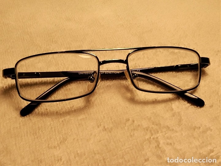 Vintage: Gafas ( UNITED COLORS OF BENETON. BB 05202.) CRISTALES GRADUADOS. MONTURA EN BUEN ESTADO. - Foto 2 - 180860341