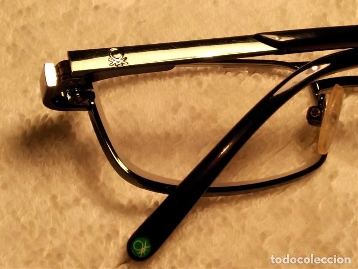 Vintage: Gafas ( UNITED COLORS OF BENETON. BB 05202.) CRISTALES GRADUADOS. MONTURA EN BUEN ESTADO. - Foto 4 - 180860341