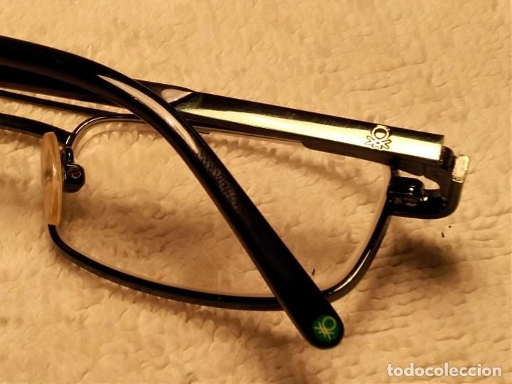 Vintage: Gafas ( UNITED COLORS OF BENETON. BB 05202.) CRISTALES GRADUADOS. MONTURA EN BUEN ESTADO. - Foto 5 - 180860341