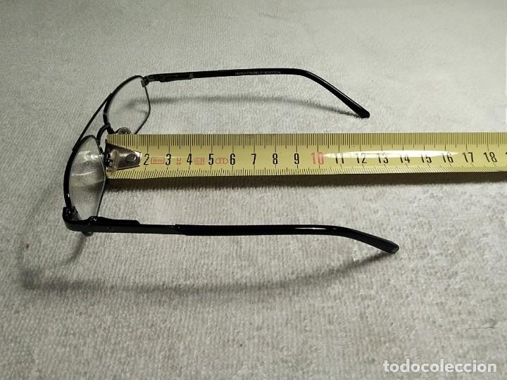 Vintage: Gafas ( UNITED COLORS OF BENETON. BB 05202.) CRISTALES GRADUADOS. MONTURA EN BUEN ESTADO. - Foto 10 - 180860341