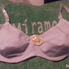 Vintage: RX___SUJETADOR /TALLA 110C,CON ARO /SIN RELLENO/MIDE 80CM,SOLO UN GASTO DE EN. Lote 180982336