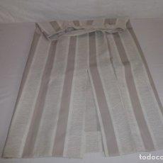 Vintage: FALDA EN COLORES BEIGE REALIZADA ARTESANALMENTE POR COSTURERA.. Lote 181213691