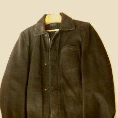Vintage: CHAQUETON PIEL CUERO HOMBRE (SEMI NUEVO) MARCA SAND KEY (AÑOS 80) CHAQUETA TALLA 48 - CALIDAD-ABRIGO. Lote 181604015