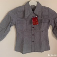 Vintage: CAMISA VINTAGE INFANTIL NUEVA. Lote 182044570