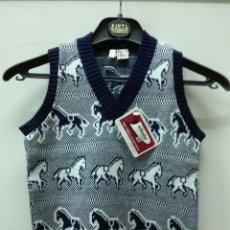 Vintage: CHALECO VINTAGE INFANTIL NUEVO. Lote 182044988