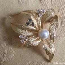 Vintage: BROCHE VINTAGE AÑOS 60 FORMA DE FLOR. Lote 182807137