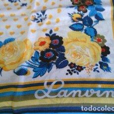 Vintage: PAÑUELO SEÑORA LANVIN. Lote 183453578