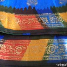 Vintage: SARI. INDIA. ISLA MAURICIO. INDIA. PERFECTO. SEDA GRAN CALIDAD. COMPLETO. . Lote 183573026