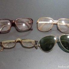 Vintage: LOTE DE 4 GAFAS ANTIGUAS. Lote 183768655