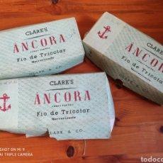 Vintage: OVILLOS DE PERLÉ ÁNCORA. Lote 184186020