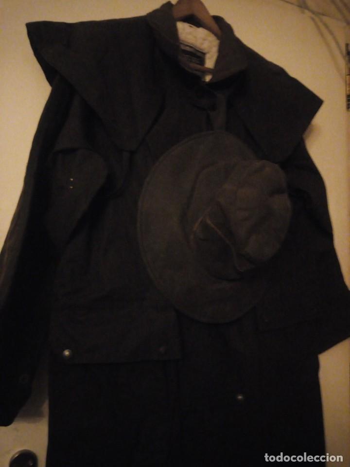 Vintage: abrigo gaban Driza Bone Riding Rainlover Weatherall Short Coats,size xl 7,con gorro a juego,vintage - Foto 3 - 184666297