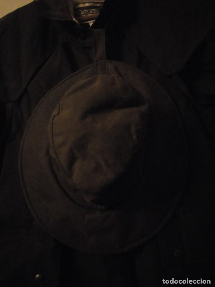 Vintage: abrigo gaban Driza Bone Riding Rainlover Weatherall Short Coats,size xl 7,con gorro a juego,vintage - Foto 6 - 184666297