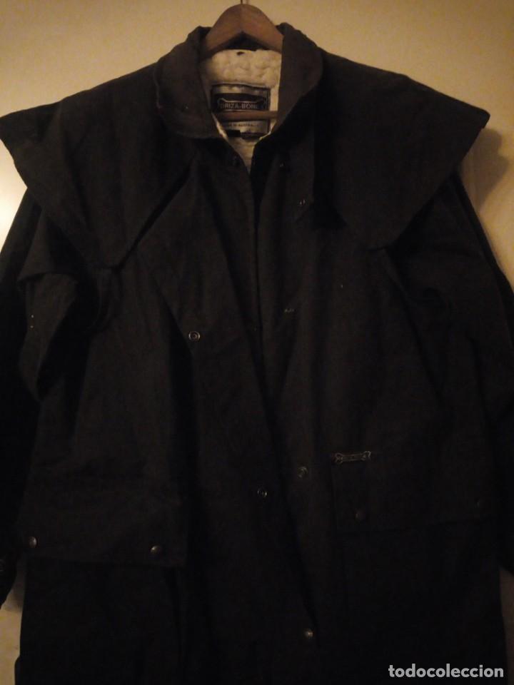 Vintage: abrigo gaban Driza Bone Riding Rainlover Weatherall Short Coats,size xl 7,con gorro a juego,vintage - Foto 11 - 184666297