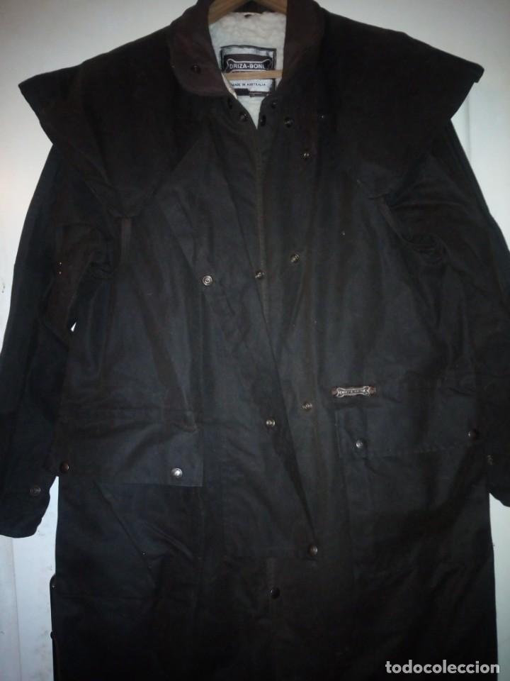 Vintage: abrigo gaban Driza Bone Riding Rainlover Weatherall Short Coats,size xl 7,con gorro a juego,vintage - Foto 12 - 184666297