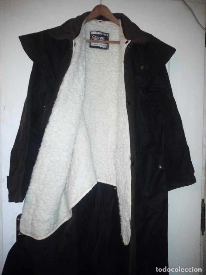 Vintage: abrigo gaban Driza Bone Riding Rainlover Weatherall Short Coats,size xl 7,con gorro a juego,vintage - Foto 13 - 184666297