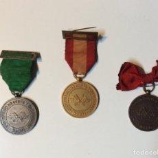 Vintage: ENVÍO 8€. MEDALLAS DE HONOR INSTITUCIÓN DE CORTE Y CONFECCIÓN MARTI DE METAL DE 4CM DE DIÁMETRO.. Lote 185067745