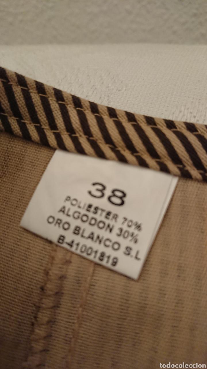 Vintage: TRAJE FLAMENCA, 38 ORO BLANCO - Foto 4 - 185659420