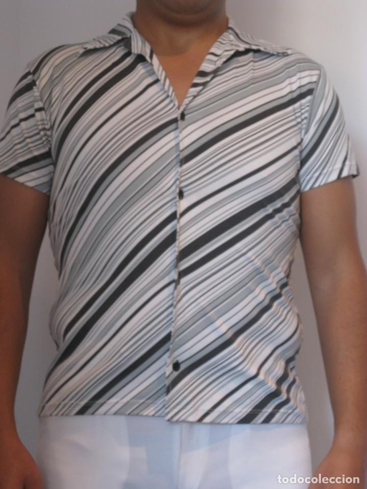 Vintage: Lote de 6 camisetas de noche para joven, de licra, estilo vintage - Foto 2 - 112842159