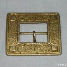 Vintage: HEBILLA DORADA VINTAGE,PARA CINTURON.8 X 7 CM.. Lote 187205148