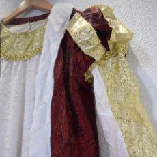 Vintage: DISFRAZ TRAJE REY , PARA RECREACIÓN O CARNAVAL TALLA ADULTO. Lote 189263591