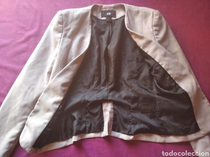 Vintage: Chaqueta H&M talla 34 beige - Foto 3 - 189334293